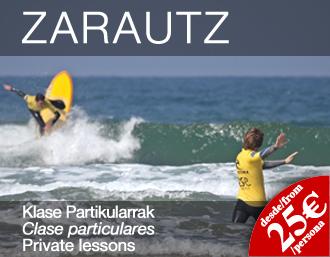 surf escuela zarautz